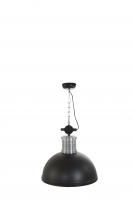 BROOKLYN industriële hanglamp Zwart by Steinhauer 7670ZW