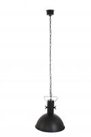 ROCOCO industriële hanglamp Zwart by Steinhauer 7673ZW