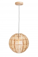 WOODY moderne hanglamp Bruin by Steinhauer 7816BE