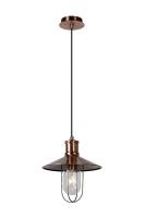 NAARDEN hanglamp roodkoper by Lucide 78377/01/17