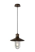 NAARDEN hanglamp roestbruin by Lucide 78377/01/97