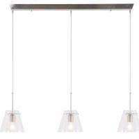 Glass Cloak Design hanglamp Staal by Steinhauer 7864ST