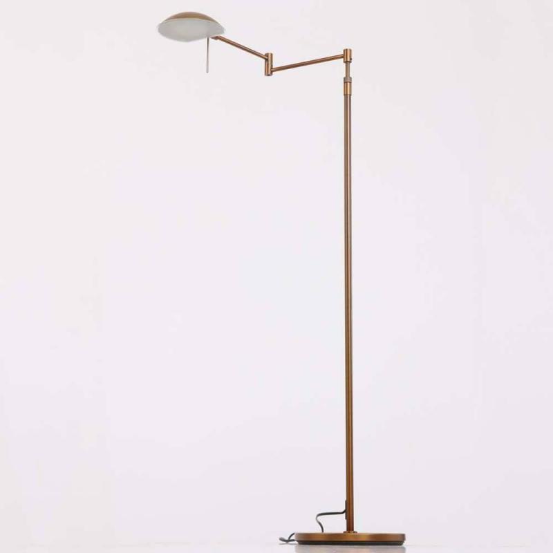 Retina klassieke vloerlamp brons by steinhauer 7887br steinhauer vloerlampen leeslampen mylamp - Klassieke vloerlamp ...