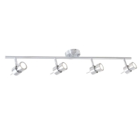 Natasja LED moderne plafondlamp Staal by Steinhauer 7904ST