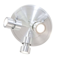 Natasja LED moderne plafondlamp Staal by Steinhauer 7905ST