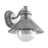 ALBACETE wandlamp antiek zilver by Eglo Outdoor 96263