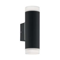 RIGA-LED wandlamp zwart by Eglo Outdoor 96505
