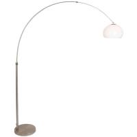 STRESA moderne vloerlamp Staal by Steinhauer 9822ST