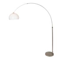 STRESA moderne vloerlamp Staal by Steinhauer 9823ST