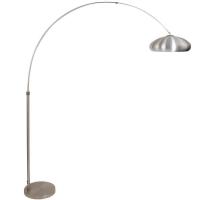 STRESA moderne vloerlamp Staal by Steinhauer 9824ST