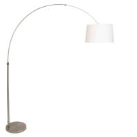 STRESA moderne vloerlamp Staal by Steinhauer 9826ST