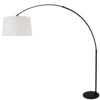 STRESA moderne vloerlamp Zwart by Steinhauer 9828ZW