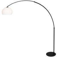 STRESA moderne vloerlamp Zwart by Steinhauer 9831ZW