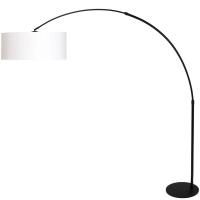 STRESA moderne vloerlamp Zwart by Steinhauer 9832ZW