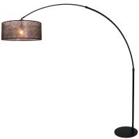STRESA moderne vloerlamp Zwart by Steinhauer 9834ZW