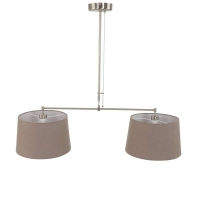 Gramineus moderne hanglamp Staal by Steinhauer 9839ST