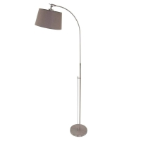 Gramineus moderne vloerlamp Staal by Steinhauer 9840ST