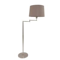 Gramineus moderne vloerlamp Staal by Steinhauer 9843ST