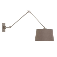 Gramineus moderne wandlamp Staal by Steinhauer 9845ST
