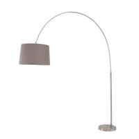 Stresa moderne vloerlamp Staal by Steinhauer 9848ST