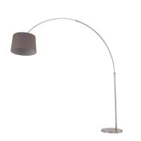 Gramineus moderne vloerlamp Staal by Steinhauer 9849ST