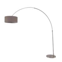 Gramineus moderne vloerlamp Staal by Steinhauer 9853ST