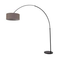 Stresa moderne vloerlamp Zwart by Steinhauer 9854ZW