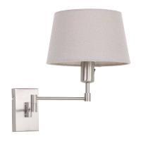 Gramineus moderne wandlamp Staal by Steinhauer 9862ST