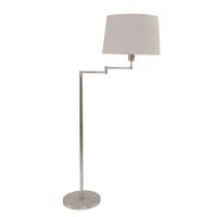 Gramineus moderne vloerlamp Staal by Steinhauer 9863ST