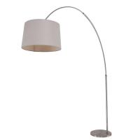 Gramineus moderne vloerlamp Staal by Steinhauer 9869ST