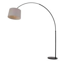 Stresa moderne vloerlamp Zwart by Steinhauer 9870ZW