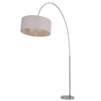 Stresa moderne vloerlamp Staal by Steinhauer 9872ST