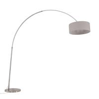 Gramineus moderne vloerlamp Staal by Steinhauer 9873ST