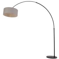 Stresa moderne vloerlamp Zwart by Steinhauer 9874ZW