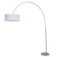 Stresa moderne vloerlamp Staal by Steinhauer 9875ST