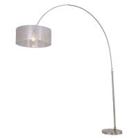Stresa moderne vloerlamp Staal by Steinhauer 9877ST