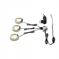 CABINET LED Keukenspot Set Chrome