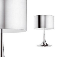 OUTLET LAATSTE SHOWROOM MODEL SPUN LIGHT T1 GEPOLIJST ALUMINIUM by FLOS F6610050