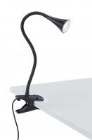VIPER LED Klemlamp Zwart by Trio Leuchten R22398102