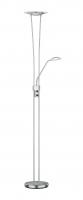 SKY LED Vloerlamp Nikkel mat by Trio Leuchten R42312107