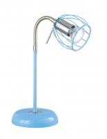 EVIAN Tafellamp Blauw by Trio Leuchten R50031012