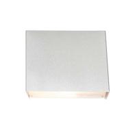 Box moderne wandlamp Zilver by Steinhauer S0232S