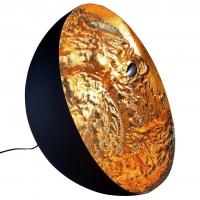 STCHU-MOON 01 60CM ZWART/GOUD DESIGN VLOERLAMP Catellani & Smith SM160O