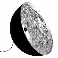 STCHU-MOON 01 60CM ZWART/ZILVER DESIGN VLOERLAMP Catellani & Smith SM160