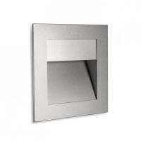 SIGN DESIGN Inbouwmuurlamp Zilver