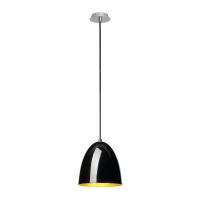 BEBOP LED Hanglamp dimbaar Zwart/Goud 20cm