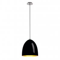 BEBOP LED Hanglamp dimbaar Zwart/Goud 30cm