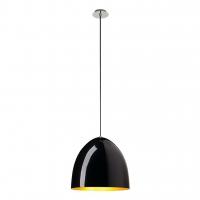 BEBOP LED Hanglamp dimbaar Zwart/Goud 40cm